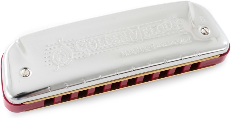 Hohner 542BX-B Golden Melody Diatonic - Key of B image 1