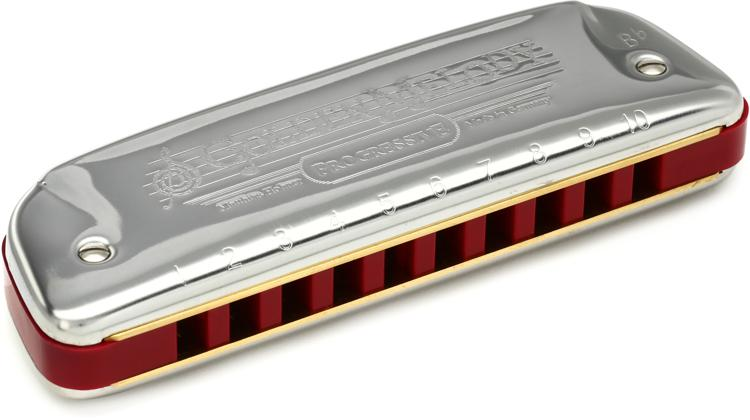 Hohner 542BX-Bb Golden Melody Diatonic - Key of B Flat image 1