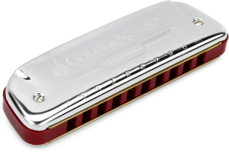 Hohner 542BX-C# Golden Melody Diatonic - Key of C Sharp image 1