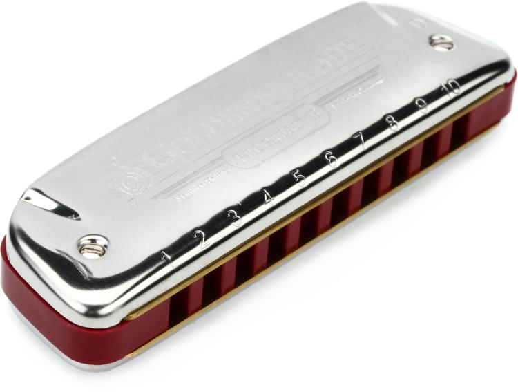 Hohner 542BX/D Golden Melody Diatonic - Key of D image 1