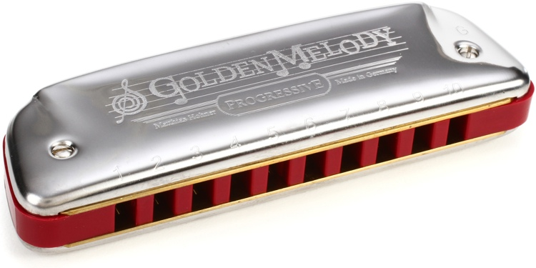 Hohner 542BX/G Golden Melody Diatonic - Key of G image 1