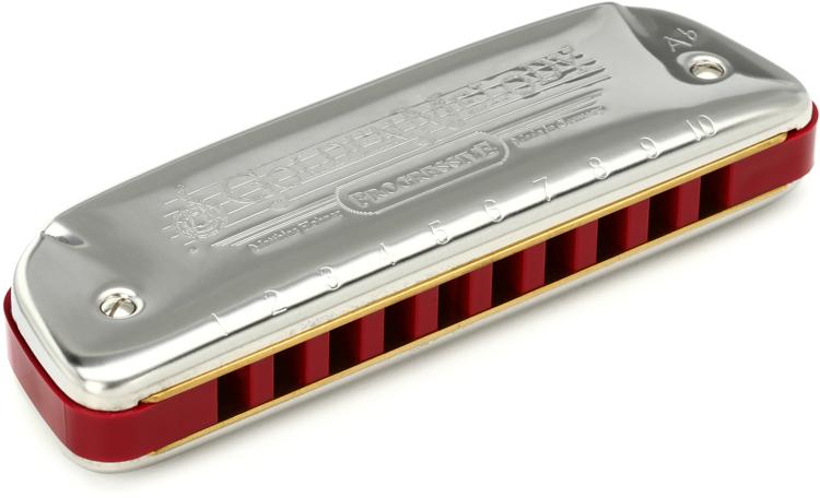 Hohner 542BX-G# Golden Melody Diatonic - Key of G Sharp image 1