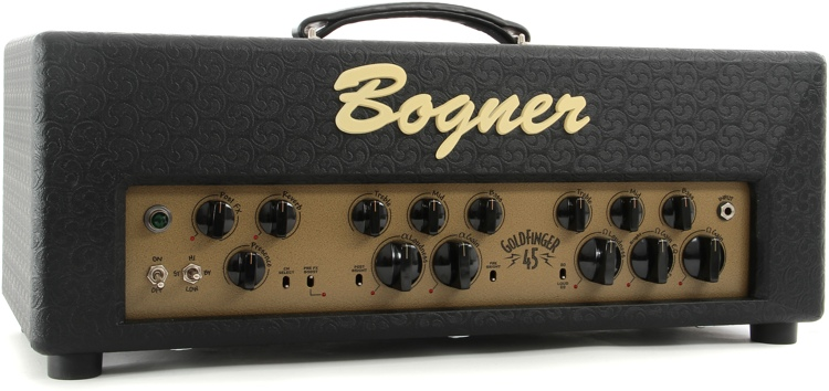 Bogner Goldfinger 45-watt Handwired Tube Head image 1