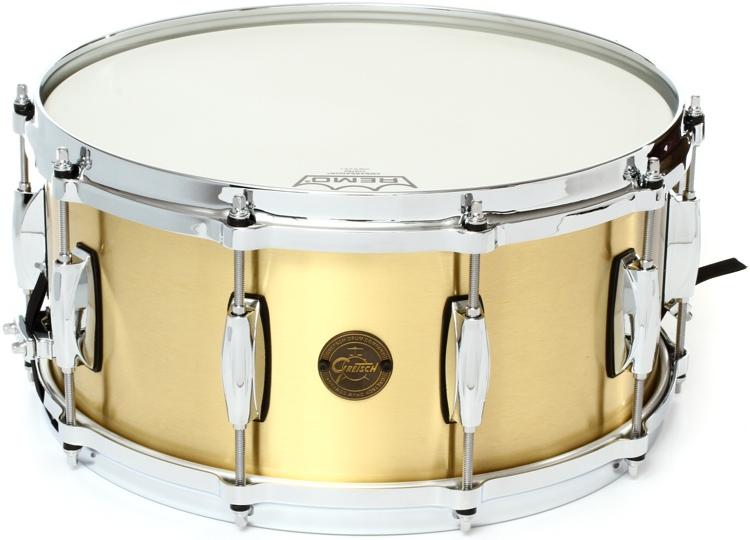 Gretsch Drums S1-6514BB-BR Bell Brass 6.5