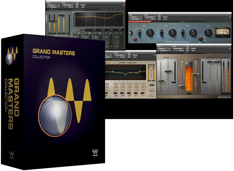 Waves Grand Masters Collection Plug-in Bundle image 1