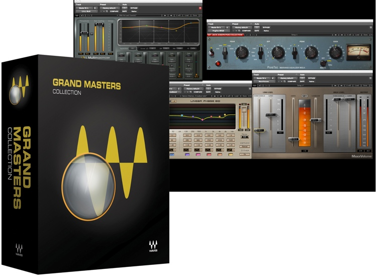 Waves Grand Masters Collection Plug-in Bundle for Academic Institutions image 1