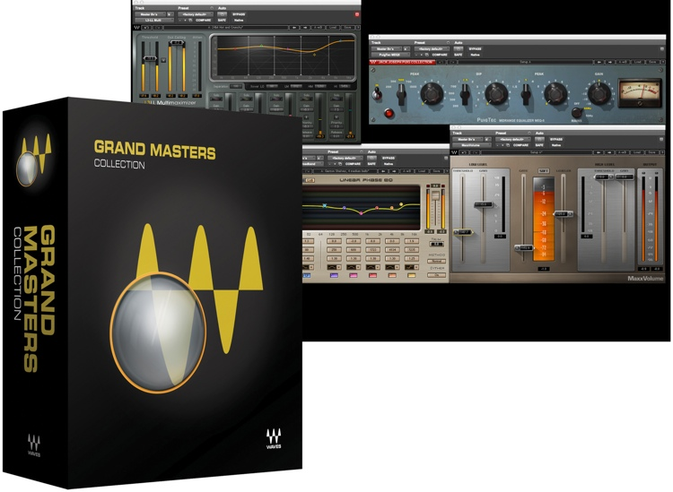 Waves Grand Masters Collection Plug-in Bundle for Academic Institutions - Native image 1