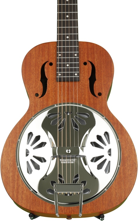Gretsch G9100 Boxcar Square-neck, Mahogany Body Resonator - Natural image 1