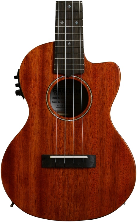 Gretsch G9121 Tenor Acoustic-Electric Cutaway Ukulele image 1