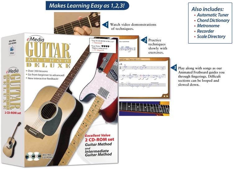 eMedia Guitar Method Deluxe image 1