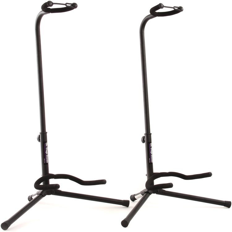 On-Stage Stands Classic Guitar Stand - Two-Pack image 1