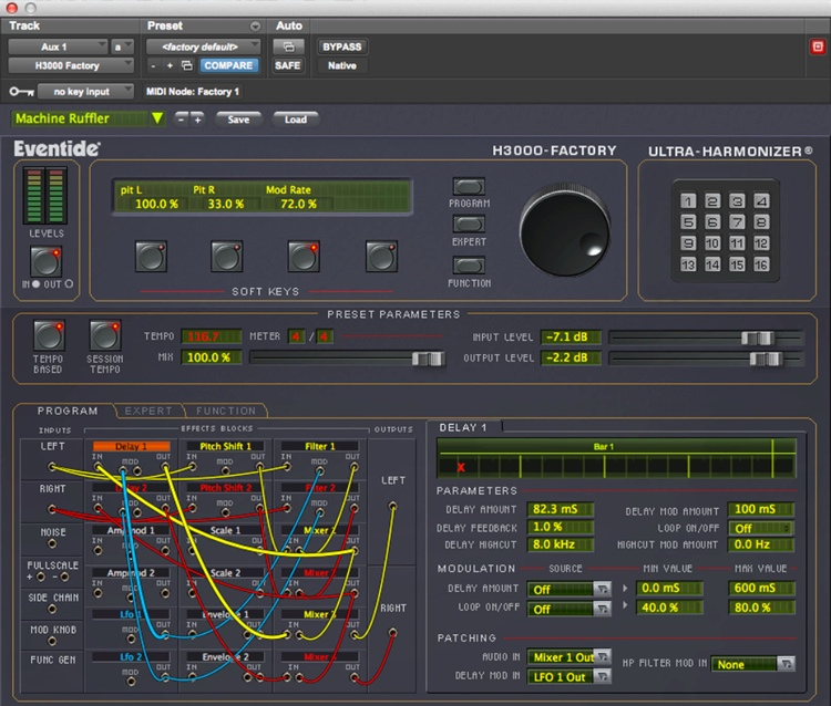 Eventide H3000 Factory Ultra-Harmonizer Plug-in image 1