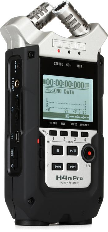 zoom h4n pro handy recorder sweetwater. Black Bedroom Furniture Sets. Home Design Ideas