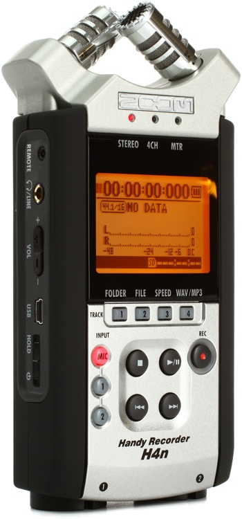zoom h4n handy recorder sweetwater. Black Bedroom Furniture Sets. Home Design Ideas