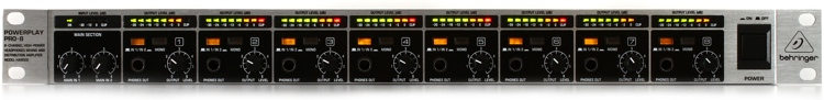Behringer Powerplay Pro-8 HA8000 8-Ch Headphone Mixing/Distribution Amplifier image 1