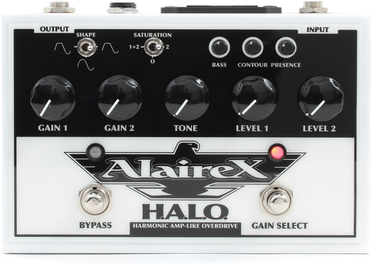 Alairex HALO Overdrive Pedal image 1