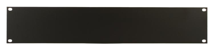 Middle Atlantic Products HBL2 Flat Aluminum Rack Panel - 2U image 1