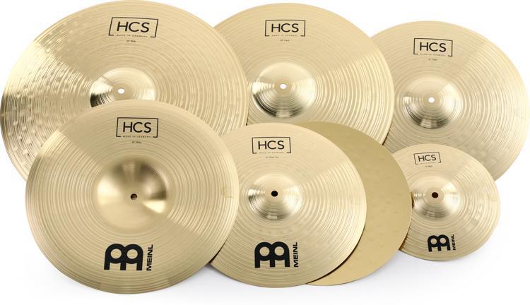 Meinl Cymbals HCS Super Cymbal Set image 1
