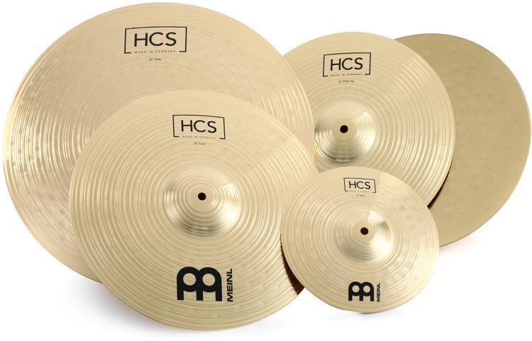 Meinl HCS Basic Cymbal Set - 18c-r, 14h, 14c - YouTube