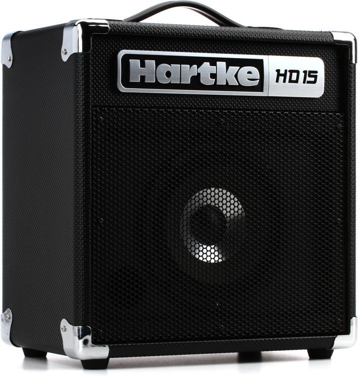 hartke hd15 1x6 5 15 watt bass combo sweetwater. Black Bedroom Furniture Sets. Home Design Ideas