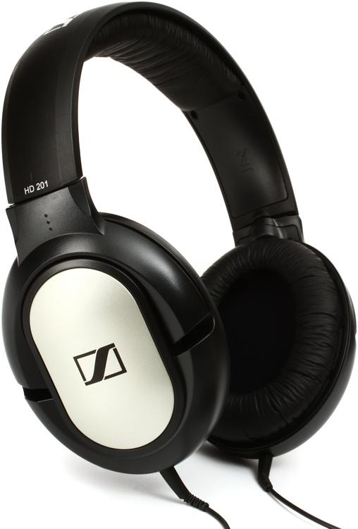 Sennheiser HD 201 Lightweight Closed-back Over-ear Headphones image 1