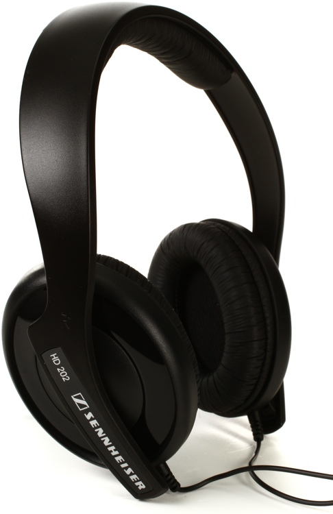 Sennheiser HD 202-II Lightweight Closed-back On-ear Headphones image 1