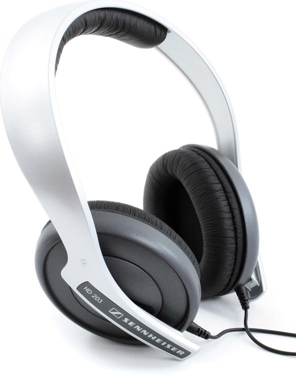 Sennheiser HD 203 Lightweight On-Ear Headphones - Closed image 1