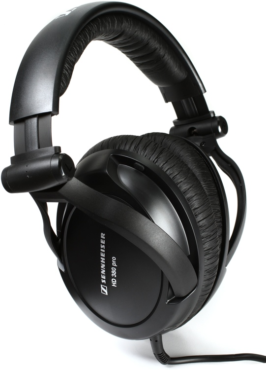 Sennheiser HD 380 Pro Closed-back Professional Monitor Headphones image 1