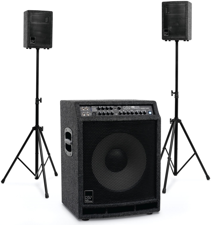 Acoustic Research Studio Monitor : Kat percussion watt stereo drum sound system