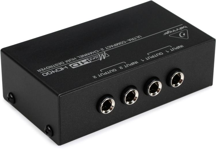 Behringer MicroHD HD400 2-channel Hum Destroyer image 1