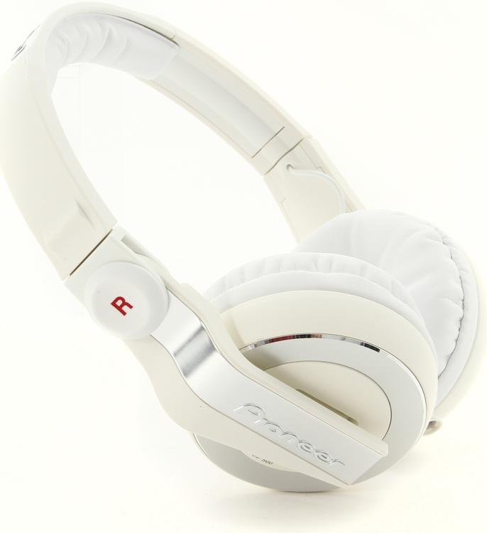 Pioneer DJ HDJ-500 DJ Headphones - White image 1