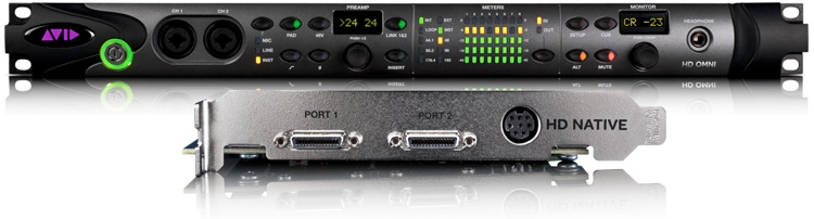 Avid 00x Family to PT|HD Native + Omni I/O Exchange image 1