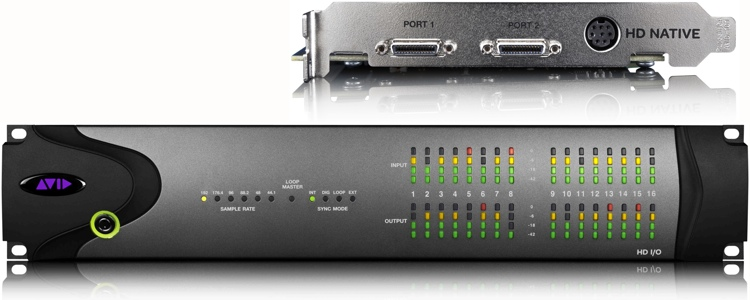 Avid 00x/Mbox Pro to HD Native 16x16 System image 1