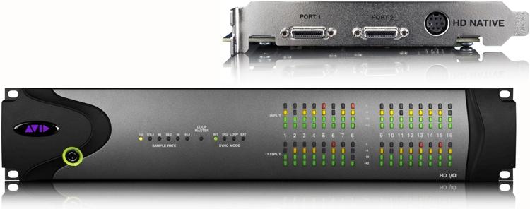Avid 00x/Mbox Pro to HD Native + HD I/O image 1