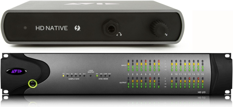 Avid 00x/Mbox Pro to Thunderbolt HD I/O 16x16 System image 1