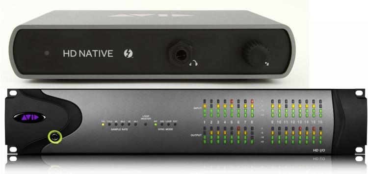 Avid 00x/MboxPro to Thunderbolt + HD I/O image 1