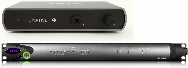 Avid 00x/Mbox Pro to Thunderbolt MADI System image 1