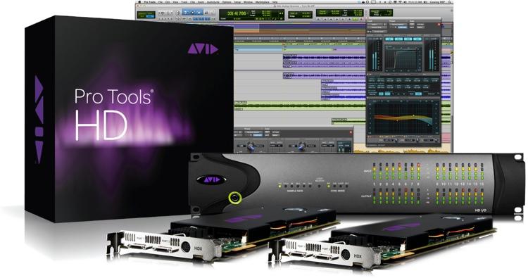 Avid Pro Tools HD2 + I/O Trade-in Upgrade to Pro Tools|HDX + HD I/O 16x16 Analog image 1