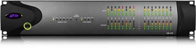 Avid Legacy I/O Trade-in Upgrade to HD I/O 16x16 Analog image 1