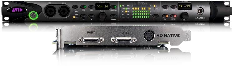 Avid Mbox Pro Family to PT|HD Native + Omni I/O image 1
