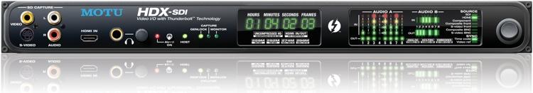 MOTU HDX-SDI Thunderbolt 1U Video Interface, 16 x 16 image 1
