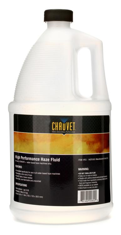 Chauvet DJ High Performance Water-based Haze Fluid - 1 Gallon image 1