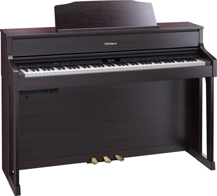 Roland HP605 Digital Piano - Contemporary Rosewood image 1