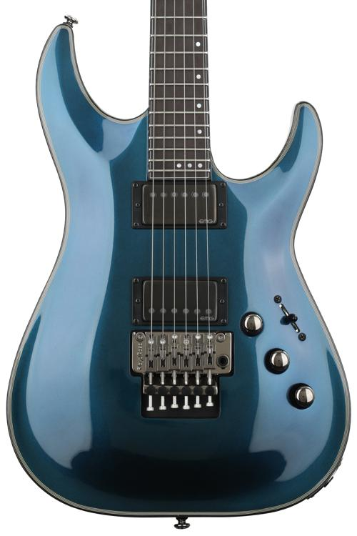 Schecter Hellraiser Hybrid C-1 with Floyd Rose - Ultra Violet image 1