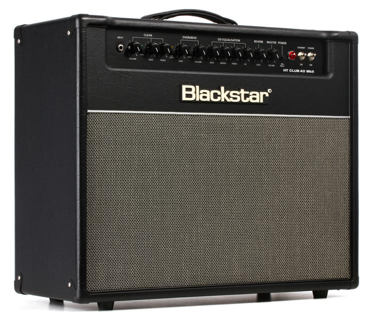 blackstar ht club 40 mark ii 40 watt 1x12 tube combo amp sweetwater. Black Bedroom Furniture Sets. Home Design Ideas