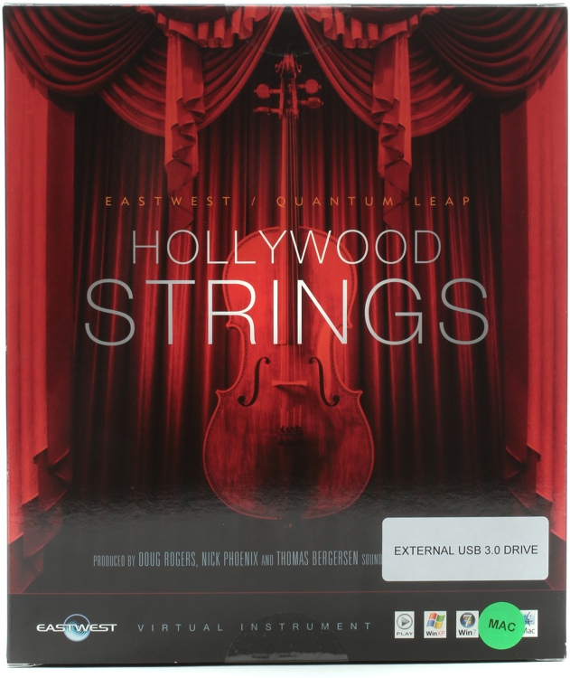 EastWest Hollywood Strings - Diamond Edition (Mac Hard Drive) image 1