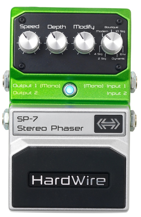 HardWire SP-7 Stereo Phaser Pedal image 1