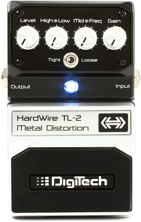 HardWire TL-2 Metal Distortion Pedal image 1