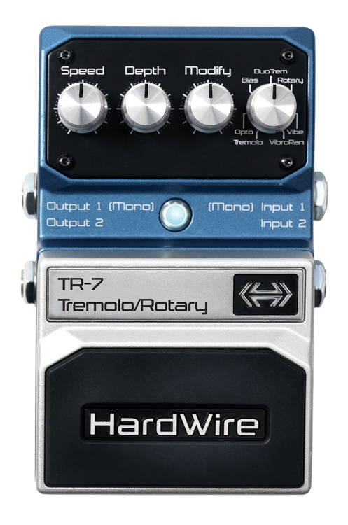 HardWire TR-7 Tremolo and Rotary Pedal image 1