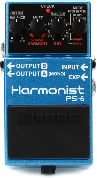 Boss PS-6 Harmonist Pedal image 1